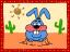 1135 Greetings from Desert Rabbit 14,Aug,2001