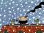 1238 ゴホフライ/異国の冬 2002年1月29日