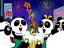 3576 ハイレグパンダ (屋上ビアガーデン) 2012年8月8日